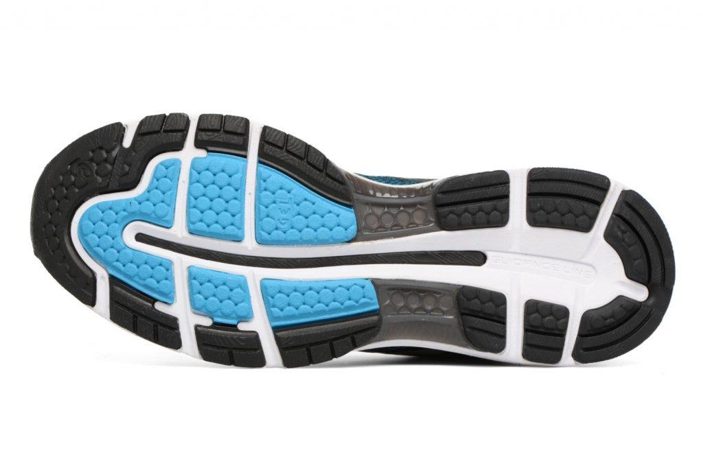 Sohle Asics GEL-Nimbus 20 Laufschuhtest